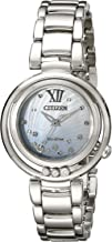 Citizen Women's EM0320-59D Citizen L Sunrise Diamond-Accented Stainless Steel Bracelet Watch