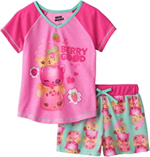 Num Noms Berry Good Shortie Pajama for Girls, Sizes 4-12