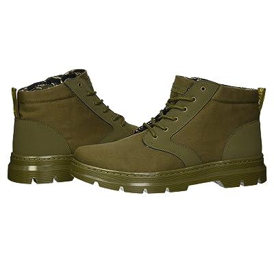 Dr. Martens Bonny II Tract (DMS Olive Broder/DMS Olive 10oz Canvas) Boots