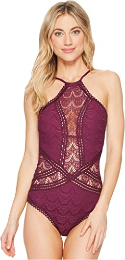 BECCA by Rebecca Virtue - Color Play High Neck One-Piece