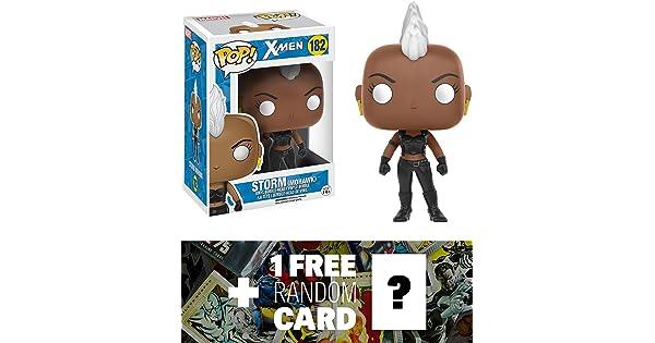 116992 Mohawk BCC94G2Y 1 FREE Official Marvel Trading Card Bundle : Funko POP x Marvel Universe Vinyl Bobble-Head Figure Storm