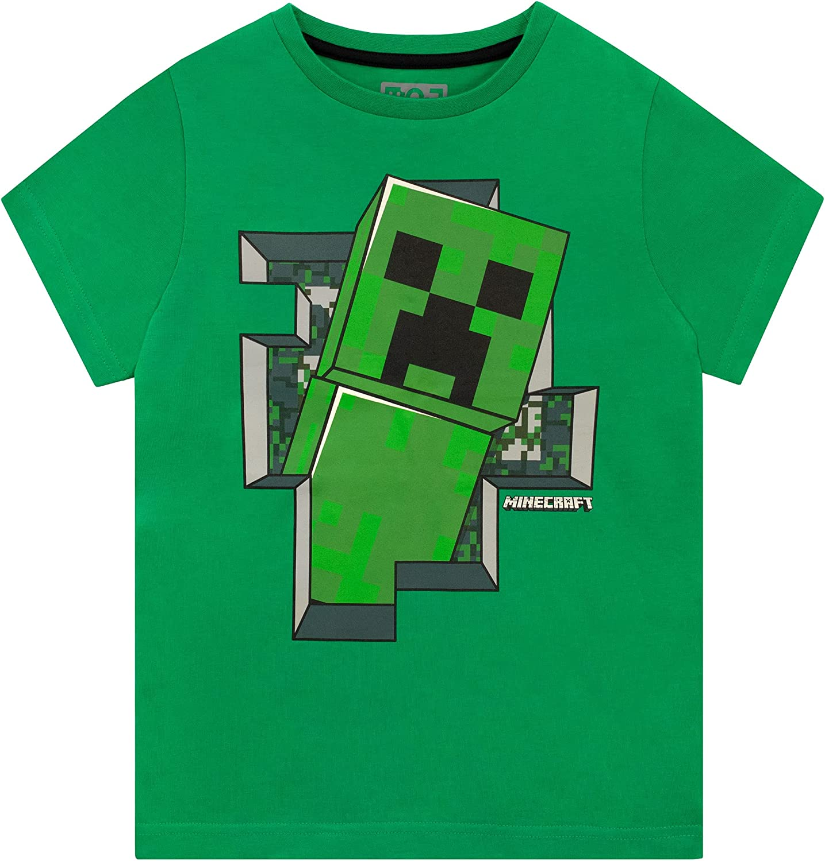 Store Minecraft Boys' T-Shirt OFFer Creeper