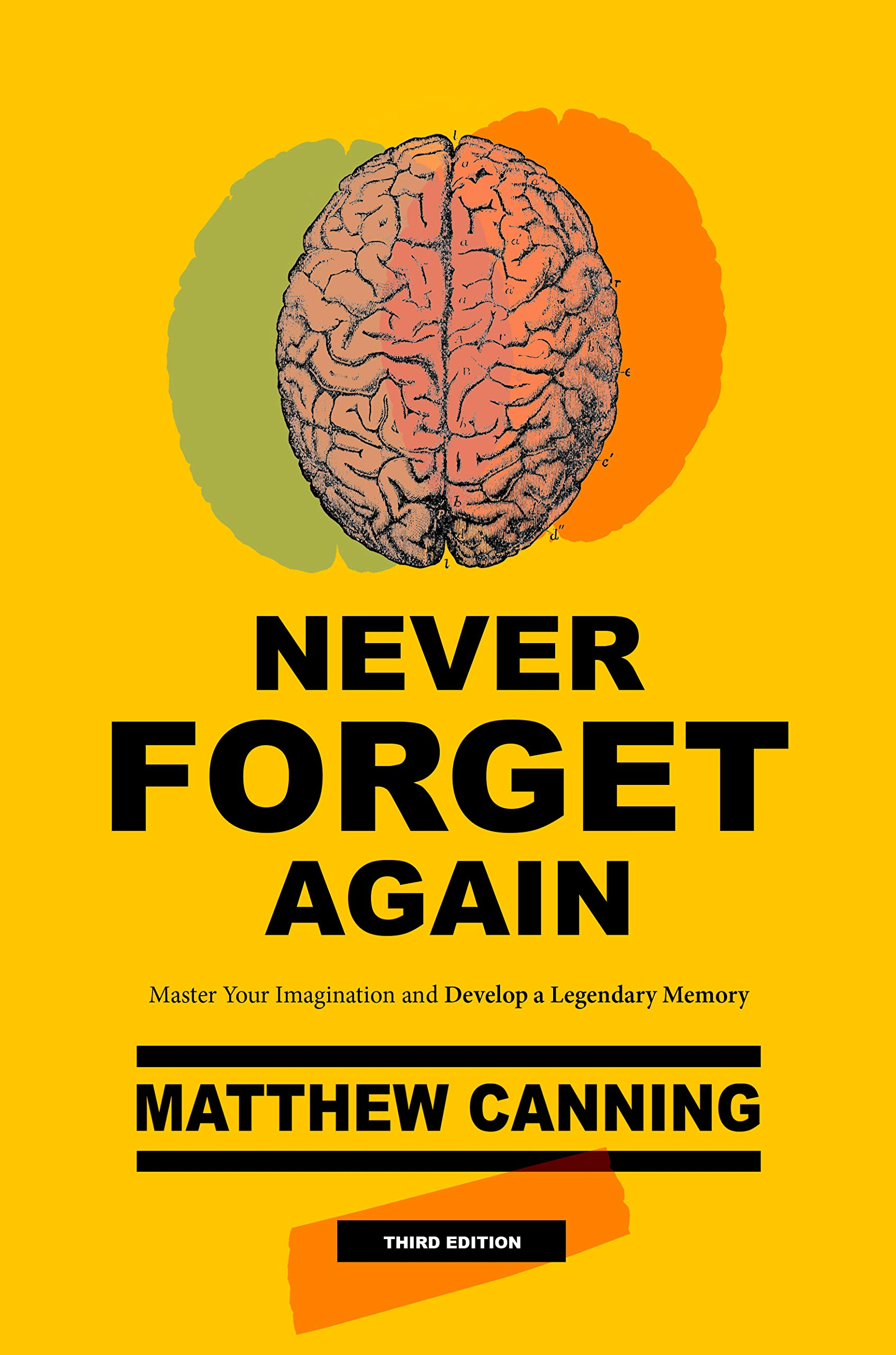 Never Forget Again: Master Your Imagination And Develop A Legendary Memory (Become Better At Everything Book 1)