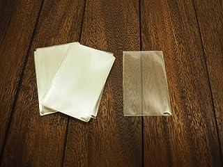 【コレクション用スリーブ】図書カード/テレホンカード/ICカード/スタバカード(スターバックス カード) 収納用スリーブ50枚