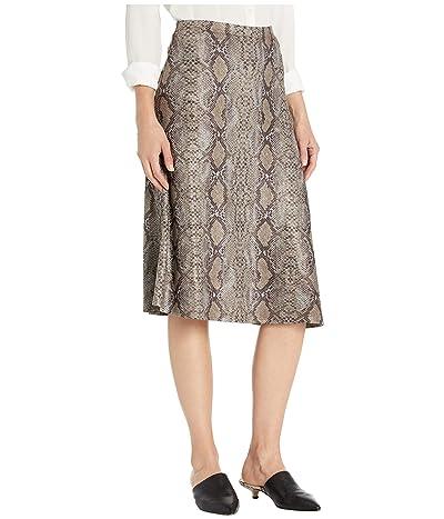 Nally & Millie Knee Length Skirt (Multi) Women