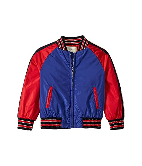 892fb7e5c2c Gucci Kids Padded Bomber Jacket (Little Kids Big Kids) at Luxury ...