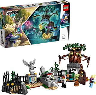 LEGO 70420 Hidden Side Graveyard Mystery Building Set, AR Games App, Interactive Augmented Reality Ghost Playset for iPhon...