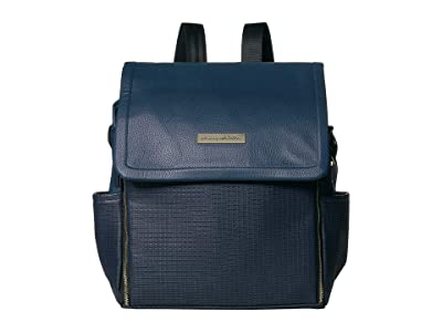 petunia pickle bottom Leatherette Boxy Backpack (Night Sky Leatherette) Diaper Bags