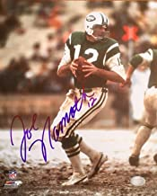 JOE NAMATH (Jets) authentic signed