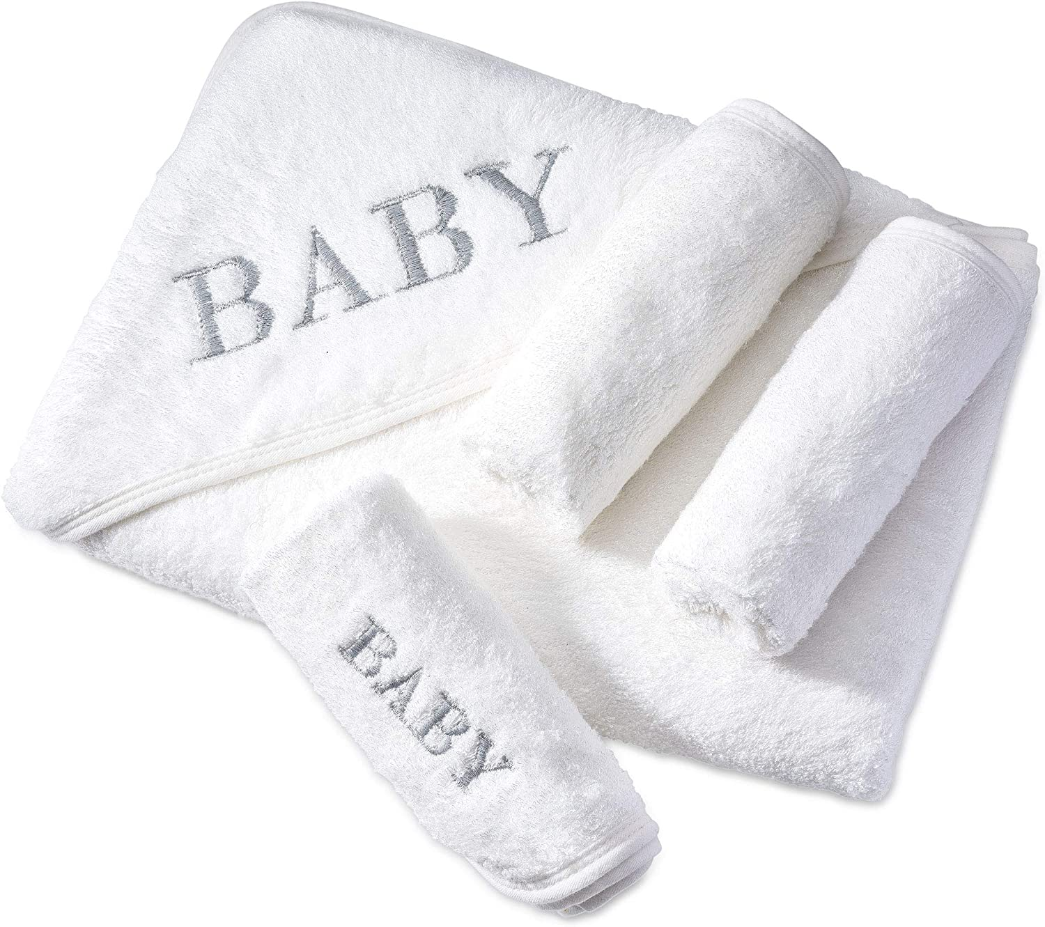 Max 45% OFF Large Baby Hooded Towels with Ranking TOP3 3 Included Washcloths So Super Big
