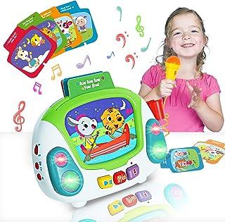 HISTOYE Musical Toys for Toddlers Karaoke Machine...