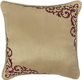 Croscill Roena Fashion Pillow, Burgundy
