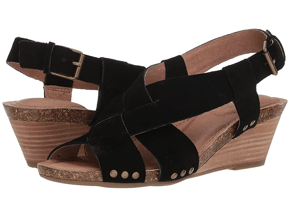 Me Too Tarin (Black Washed Split Suede) Women