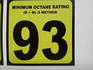 93 Gasoline Sticker