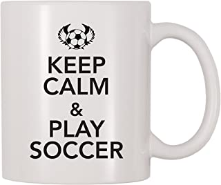 4 All Times Keep Calm And Play Soccer Mug (11 oz)