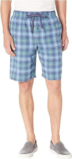 Plaid Flannel Jam Shorts