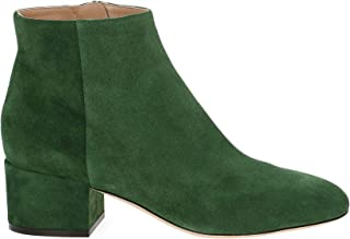 SERGIO ROSSI Luxury Fashion Womens A78330MCRZ013118 Green Ankle Boots | Season Outlet