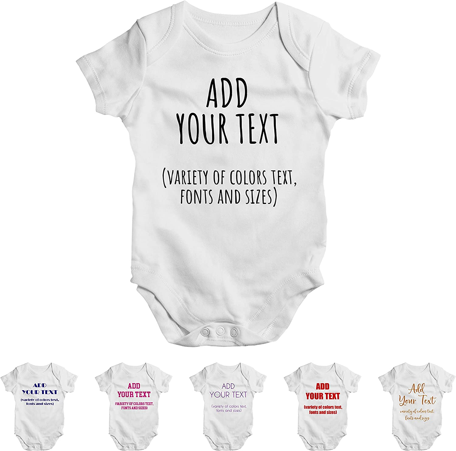Customize Unisex Baby Sales of SALE items from new works Onesie Beanies Ultra-Cheap Deals Bod Girl Boy Personalized -