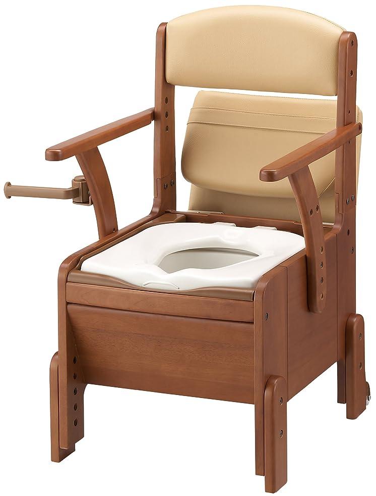 拮抗する鼻無心アロン化成 安寿 家具調トイレ コンパクト 標準便座