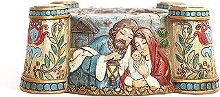 Avalon Gallery Nativity Scene Advent Candle Holder