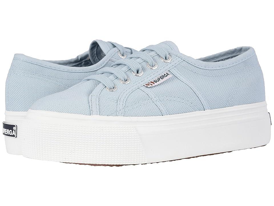 Superga 2790 Acotw Platform Sneaker (Dusty Blue) Women