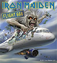 Sticker Iron Maiden Flight 666 Album Cover Art English Heavy Metal Music Decal