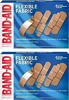 بندهای چسبی پارچه ای انعطاف پذیر با نام تجاری Band-Aid برای حفاظت راحت از انعطاف پذیری