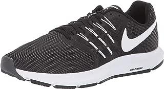 Women's Run Swift Shoe, Black/White-Dark Grey, 8 Regular US