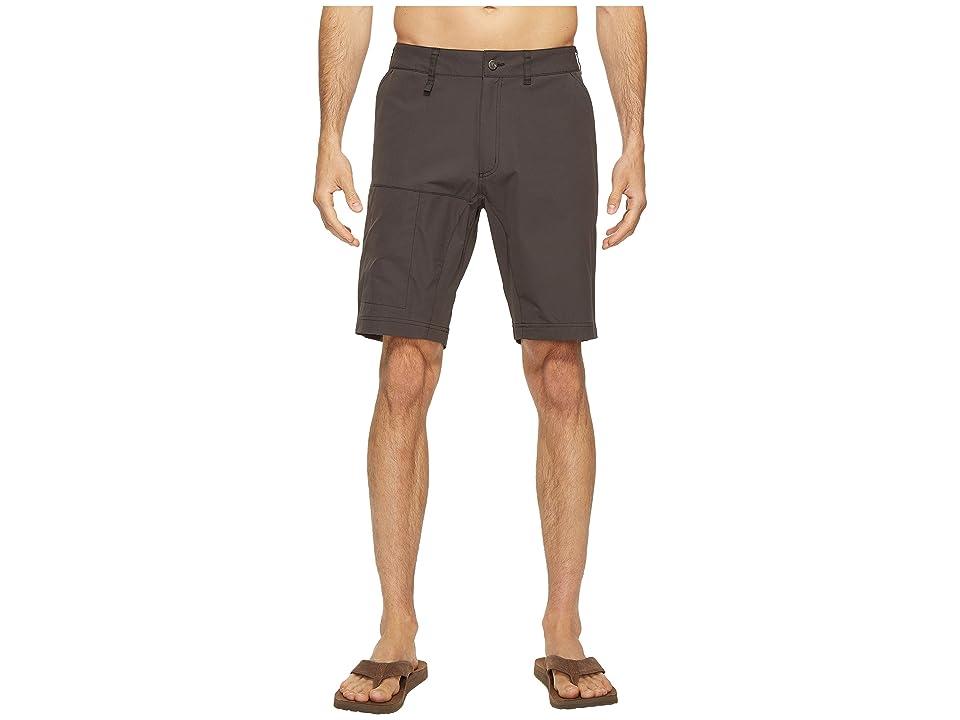 Fjallraven Abisko Lite Shorts (Dark Grey) Men