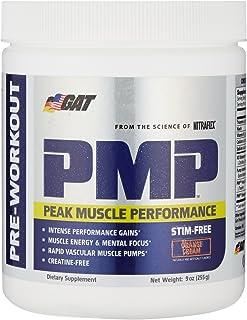 GAT PMP Pre Workout Powder, Orange Cream, 30 Servings