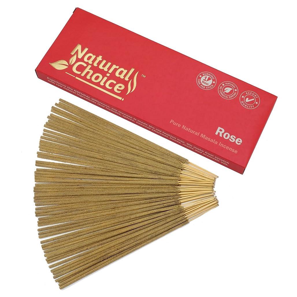 名詞リズム手錠Natural Choice Incense Rose Incense Sticks 100?gm?–?Made from Scratch?–?No Dipping