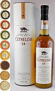 Clynelish 14 Jahre Single Malt Whisky  9 Edel Schokoladen in 9 Sorten