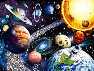 Sofore Planetary Vision Jigsaw Puzzle for Adults Teen Kids 1000 Piece Jigsaw Puzzle Fit Together Perfectly, Educational In...