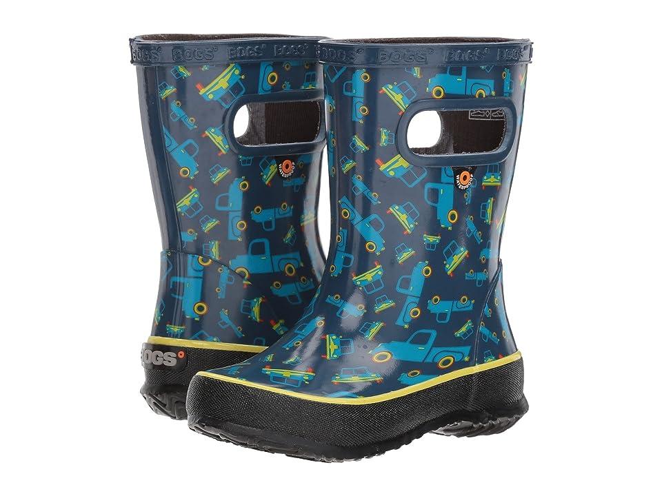 Bogs Kids Skipper Trucks (Toddler/Little Kid) (Blue Multi) Boys Shoes