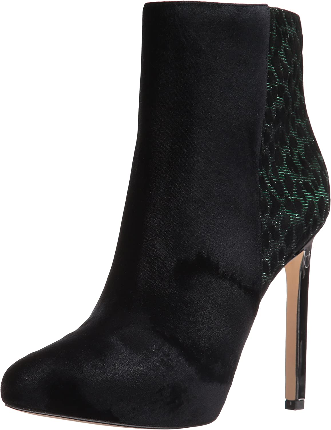 Nine West Womens Ladivina Fabric Ankle Bootie
