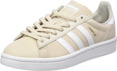 adidas Campus, Baskets Basses Femme, Marron (Clear Brown/Footwear ...
