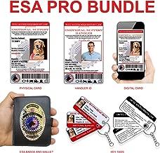 Xpress ID Emotional Support Animal Pro Bundle   Includes Registration to National Dog Registry