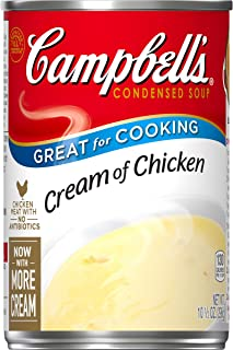 Campbell's Condensed Cream of Chicken Soup, 10.5 oz. Can