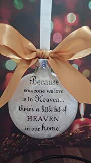 Best because someone we love is in heaven christmas bauble Reviews
