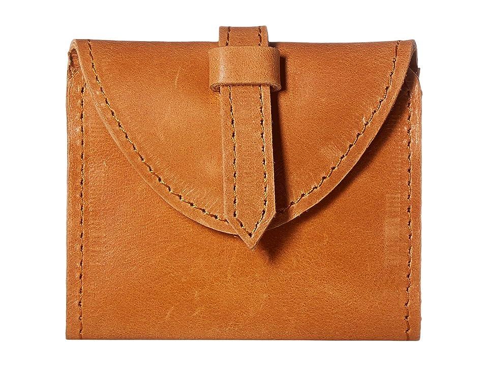 ABLE Tirhas Wallet (Cognac) Handbags