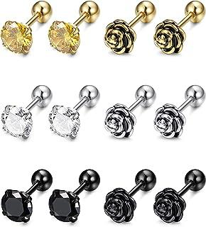 89484391aa8ad Amazon.in: ₹500 - ₹1,000 - Earrings / Men: Jewellery