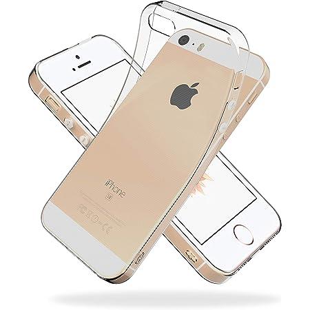 Youriad iPhone SE (2016) / 5S / 5 ケース カバー SE 旧型 第1世代   透明 クリア ソフト カバー  特徴 軽量 インチ 薄型 ストラップ 滑り止め 落下防止 TPU(iPhoneSE 旧型 第1世代 2016 / iPhone5S / iPhone5 専用)