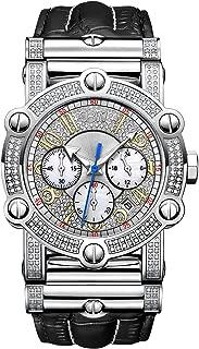 JBW Men's 10-Year Anniversary Phantom 196 Diamonds Chronograph Watch
