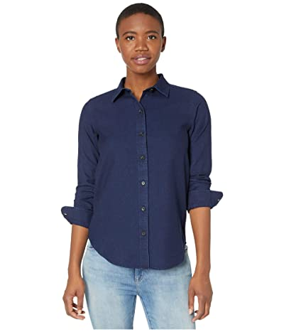Filson Light Weight Alaskan Guide Shirt (Dark Indigo) Women