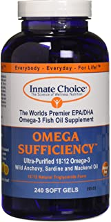 Omega Sufficiency Lemon 240 Capsules