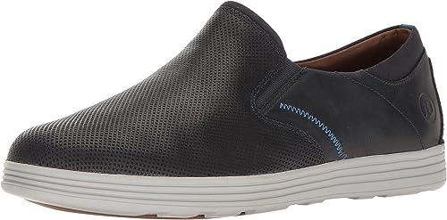 Dunham Men's Colchester Slipon Fashion baskets, bleu, 8 4E US