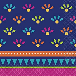 Unique Party 73442 - Boho Fiesta Paper Napkins, Pack of 20