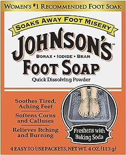Johnson & Johnson Foot Soap, 4 Ounce