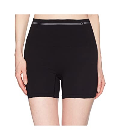 Yummie Cotton Seamless Shaping Shorts (Black) Women
