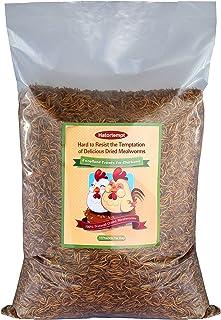 Lombrices de comida secas a granel para reptiles, tortugas, anfibios, lagarto, aves silvestres, chichenses, pato etc.
